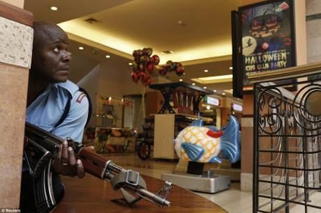 Momen-momen Menegangkan dari Penyanderaan di Mal Kenya
