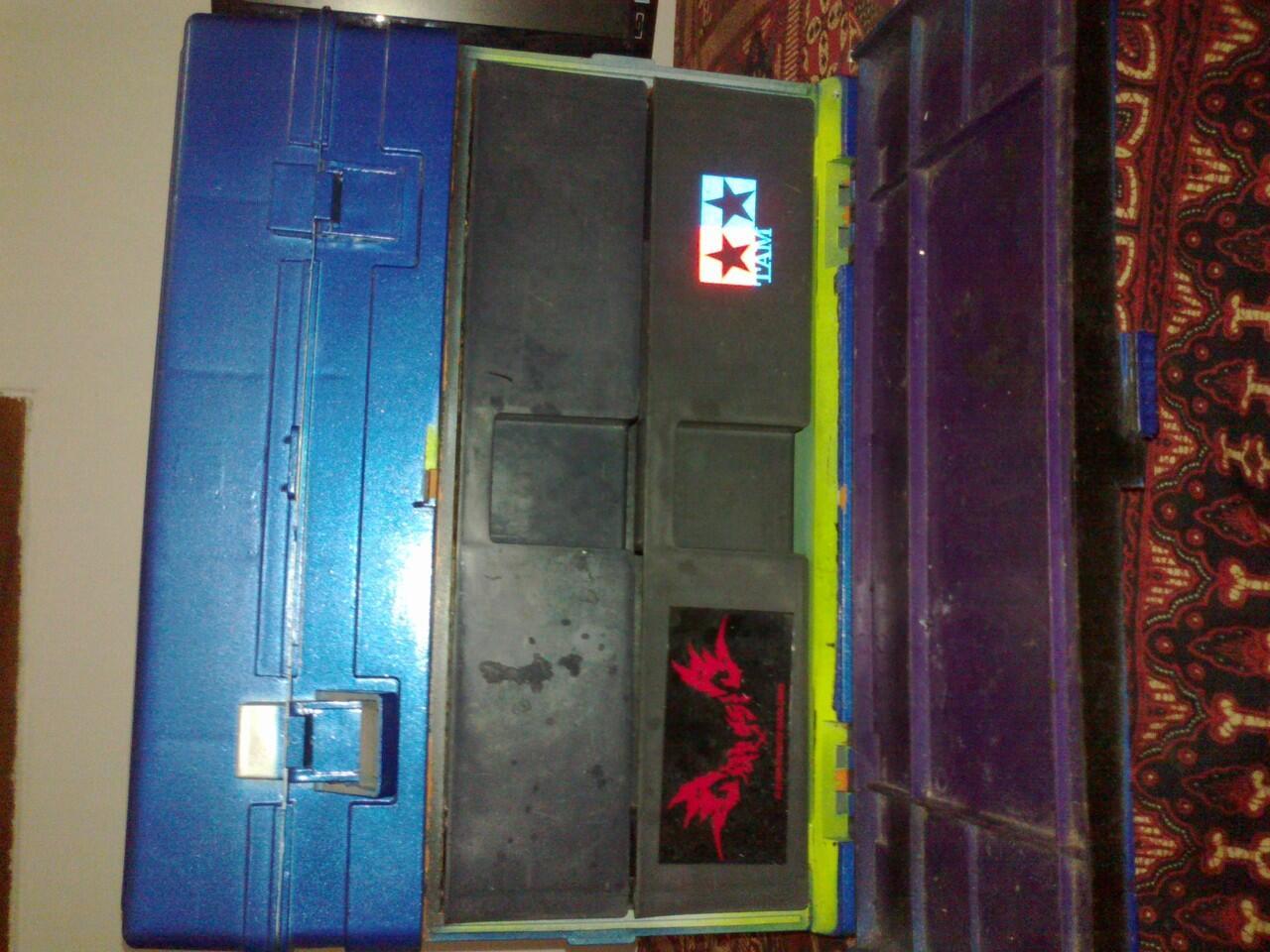 jual box tamiya hjh second/bekas