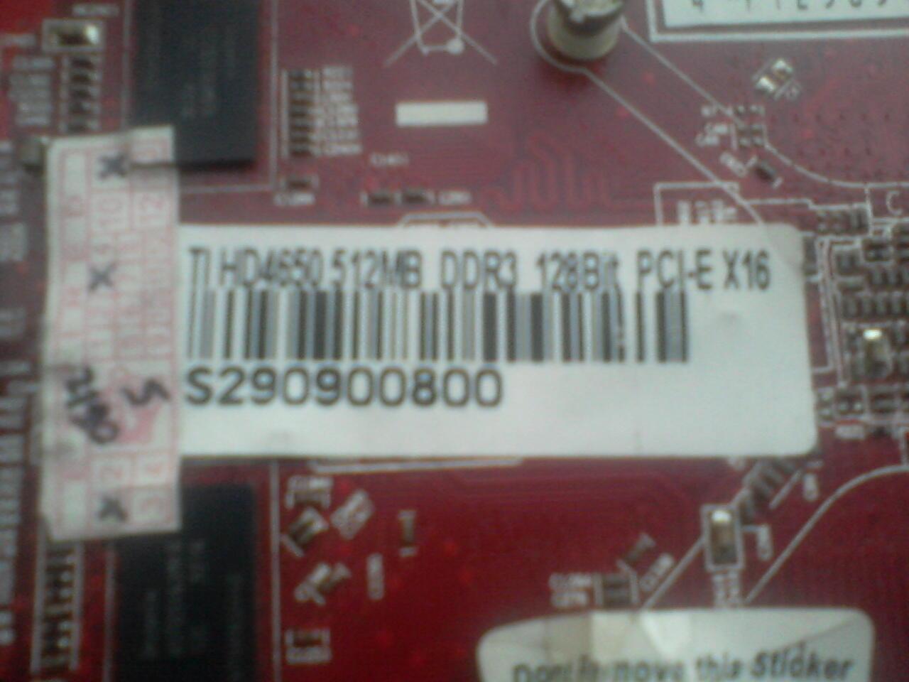 DA 4650 512MB DDR3 128bit