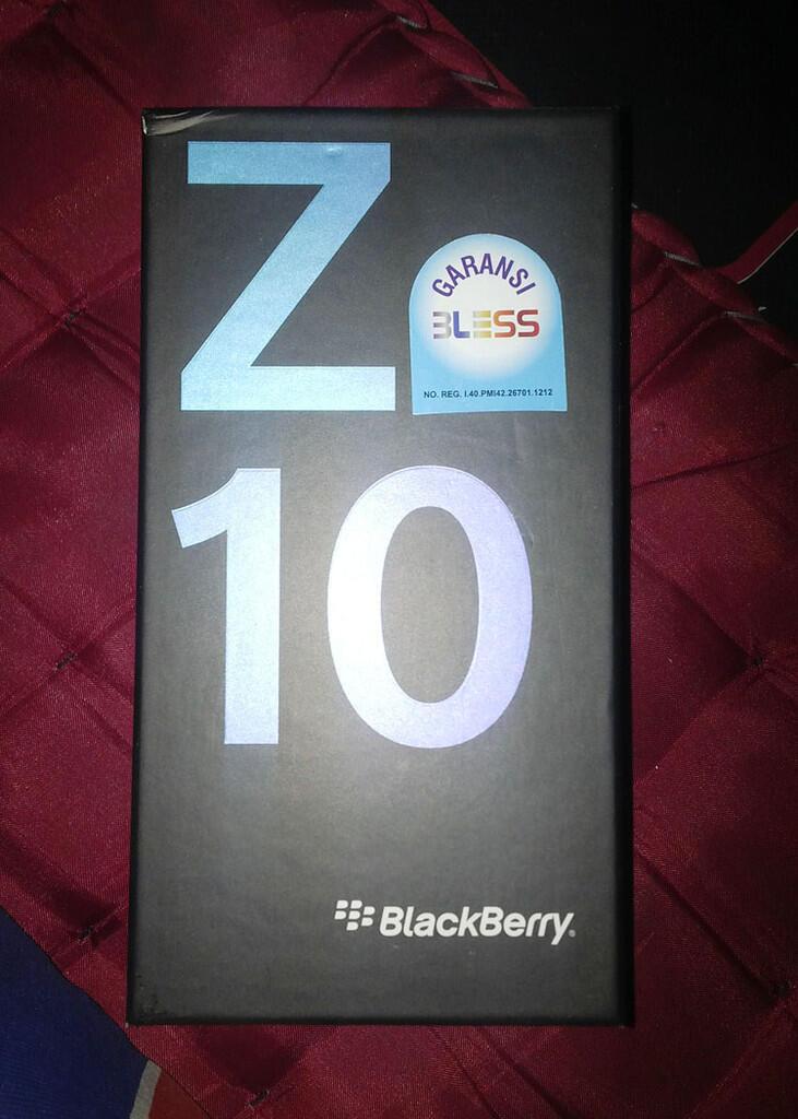 [WTS] Blackberry Z10 GARANSI RESMI, FULSET, MULUS, BANDUNG..