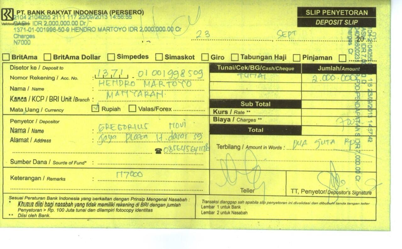 SURAT TERBUKA UNTUK AGAN HENDRO MARTOYO DENGAN ID : 5898246 , MOHON BANTUANNYA