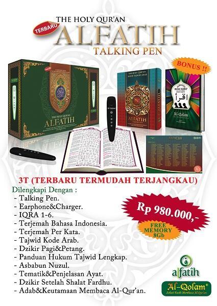 Al-Quran Al Qolam Alfatih Talking pen (Terbaru !!) Solusi membaca Al Quran