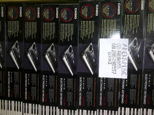 Keyboard Casio CTK 7000 (TUJUH RIBU)
