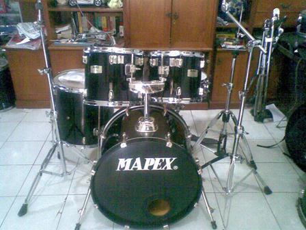 jual drum set pearl vision birch,mapex m series n yamaha yd jepang