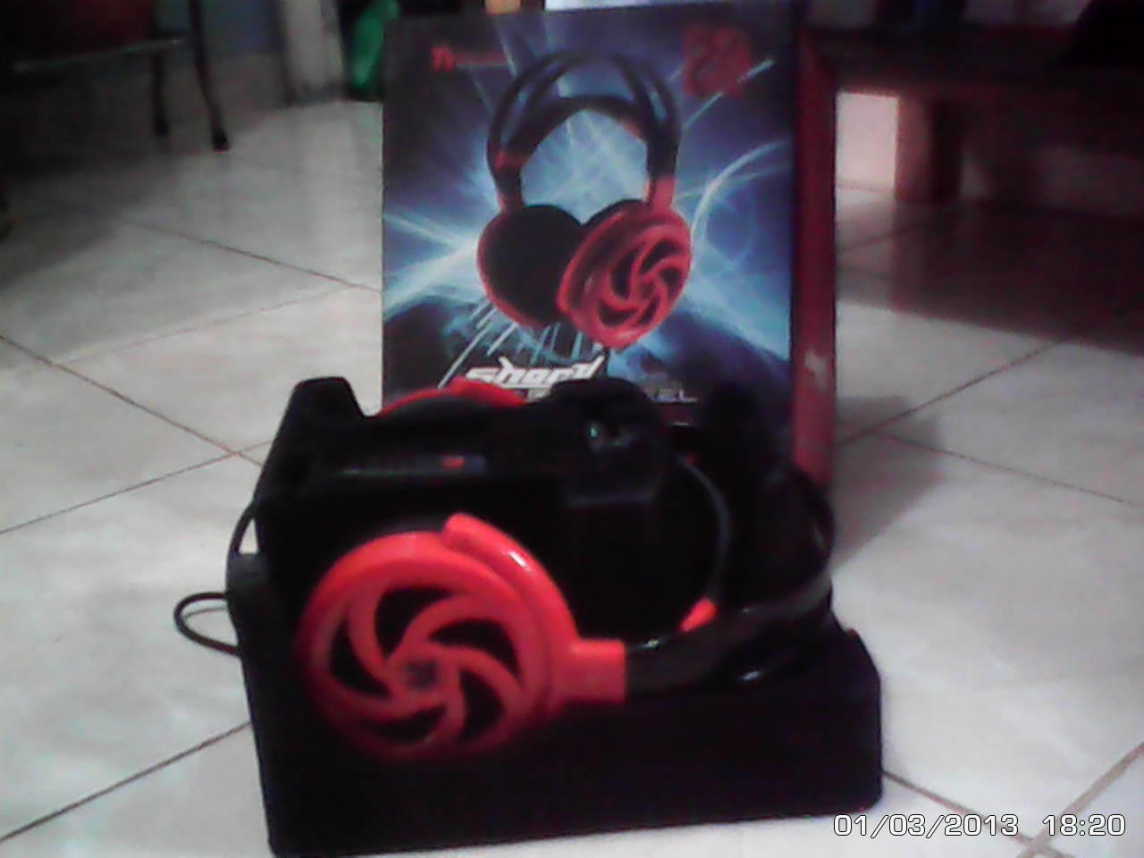 Gaming headset Ttesports shock spin hd 7.1