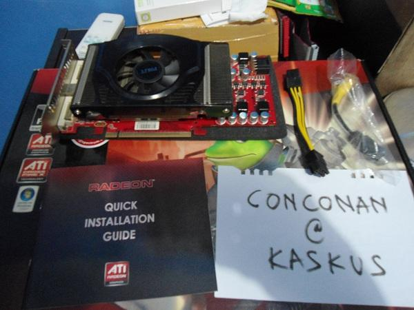Creative SBS580, Palit HD4850 Sonic