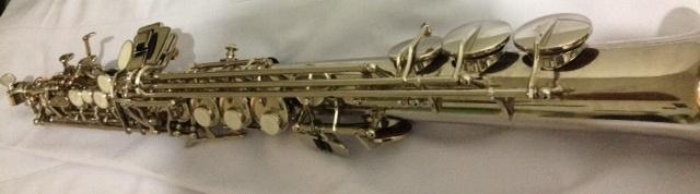 Saxophone Sopran Hermes Silver