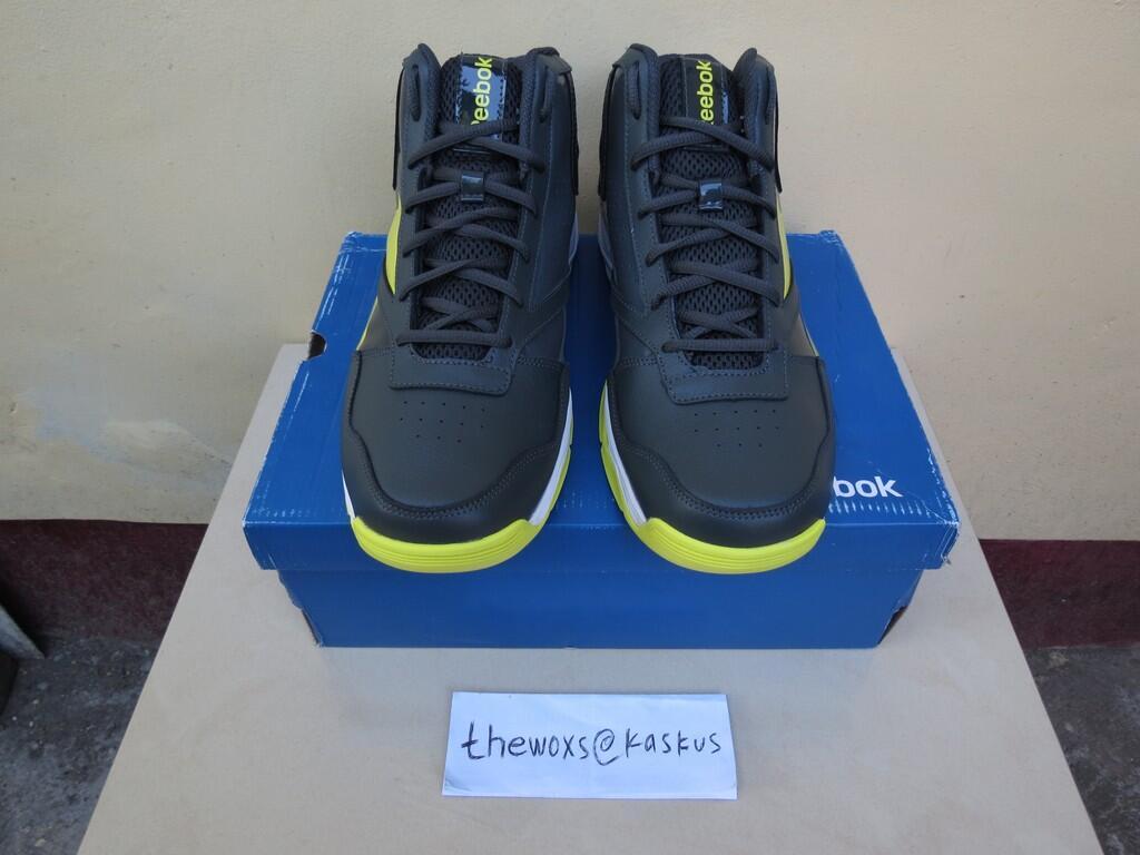 Terjual Jual Sepatu Basket Reebok Slice N  Dice II Nomor 44 (EUR ... c90685d625