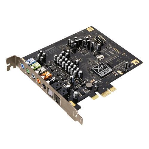 Sound card x-fi titanium sb0881 (pci-ex)