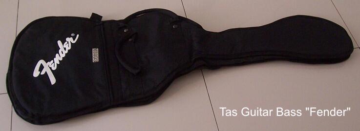 "Tas / Softcase Guitar Bass ""Fender"""