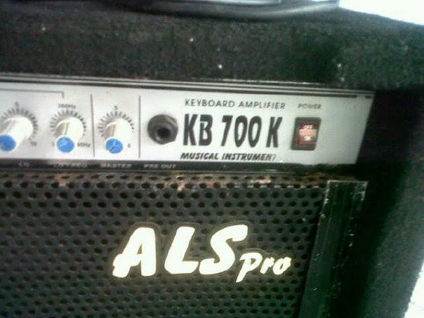 """AMPLI KEYBOARD ALS PRO 15"""""""