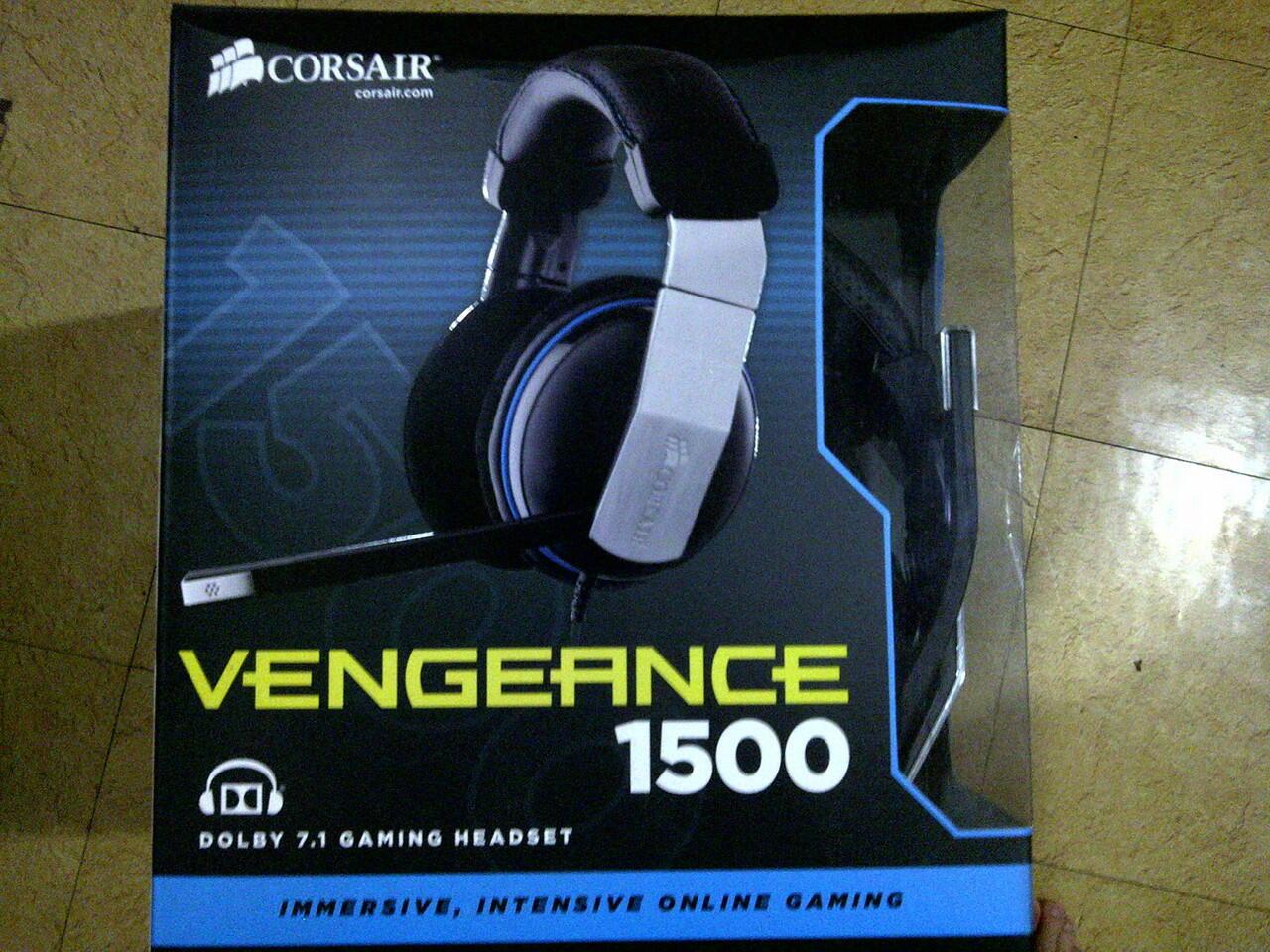 [WTS] Corsair Vengeance 1500 7.1 Gaming Headset