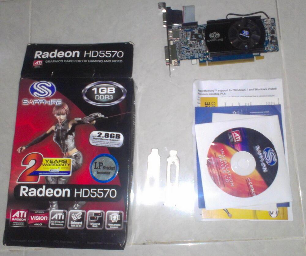 Sapphire 5570 1 GB DDR3 128 Bit Hypermemory [Jogja]