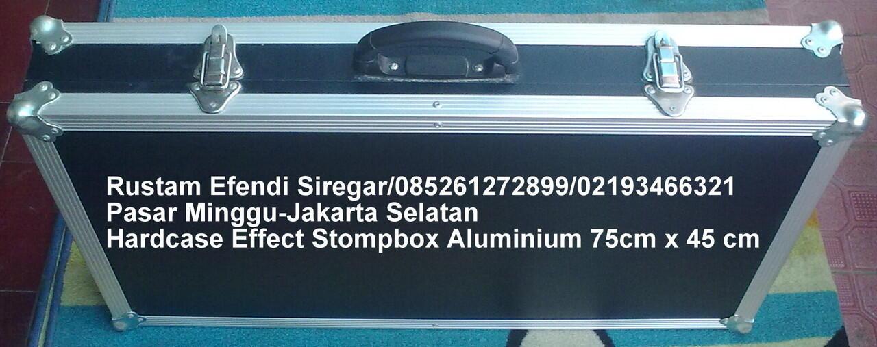 Hardcase Effect Stompbox Aluminium 75 cm x 45 cm
