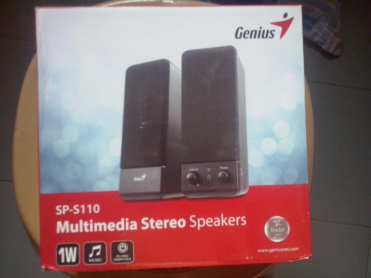 Speaker Pc/laptop Genius Sp-s110
