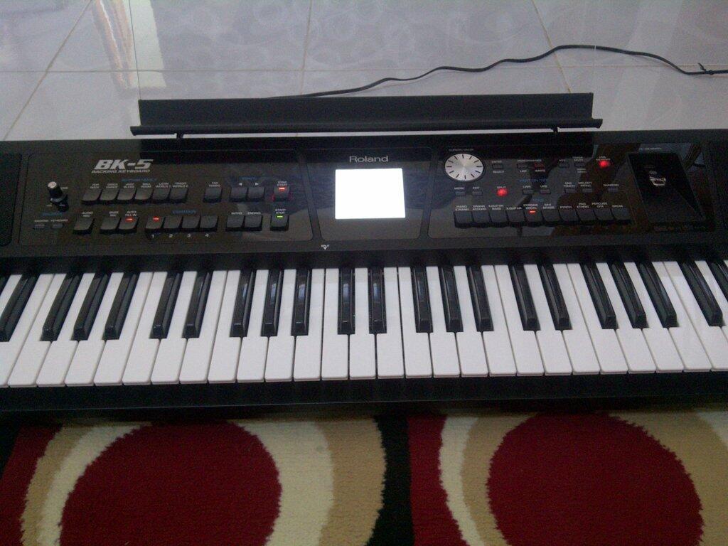keyboard roland bk-5