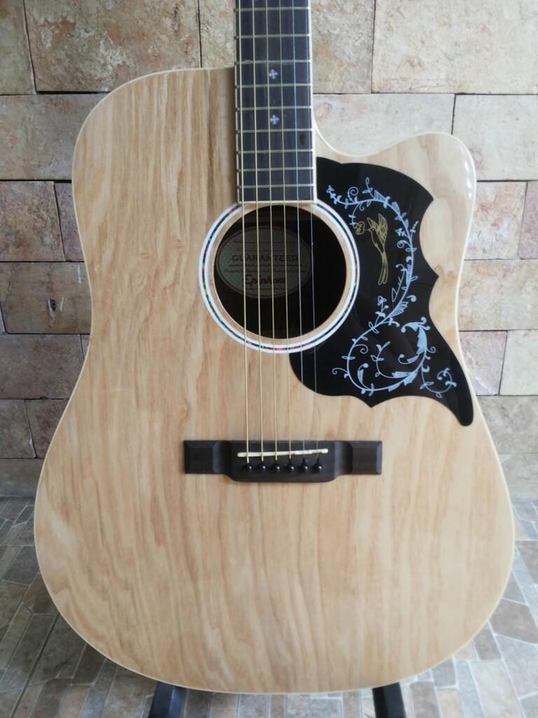 Gitar Akustik Elektrik Epiphone Natural
