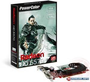 VGA GDDR3 1 GB HD 5570 Power Color full set (barang baru 5 hari pakai)