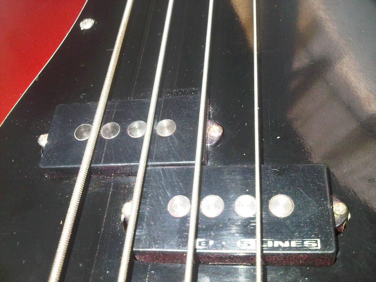 Squier Fender Precision Made in Korea tahun 1994 Sound Ganaaas Mantaaap !!!