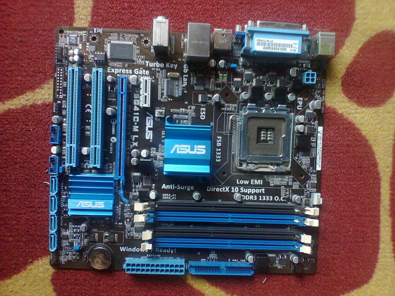 7 PCS ASUS P5G41T-M LX {Depok}