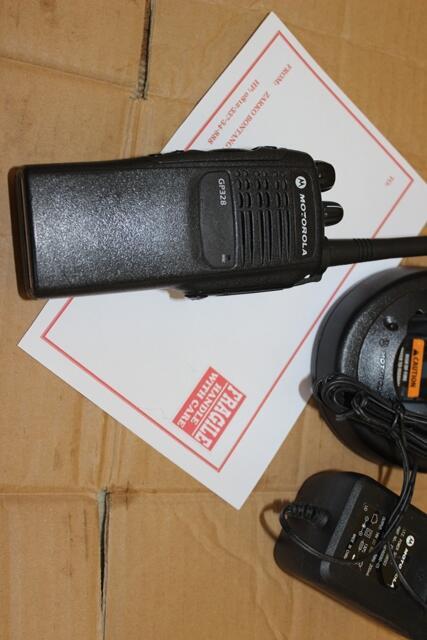 Radio HT Motorola GP338 dan GP328 VHF kondisi bagus, mulus silahkan gan