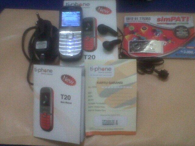 ... Jual Handphone TIPHONE T20