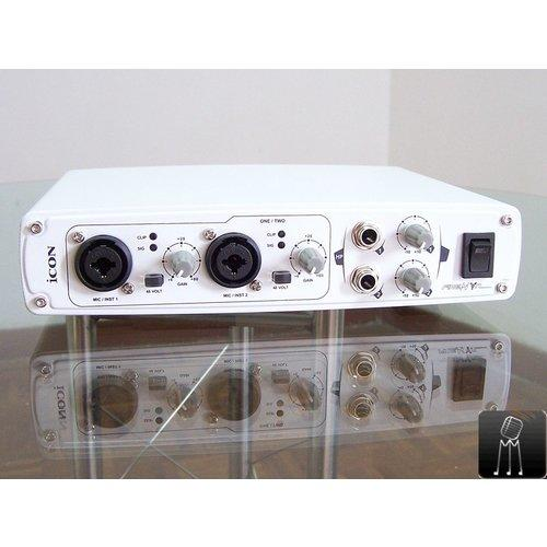 SOUNDCARD ICON UTRAK 2IN2OUT USB RECORDING/MIDI/SPDIF