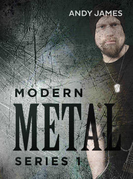 [DVD GUITAR LESSON] Andy James - Modern Metal Series 1- JAMTRACKCENTRAL
