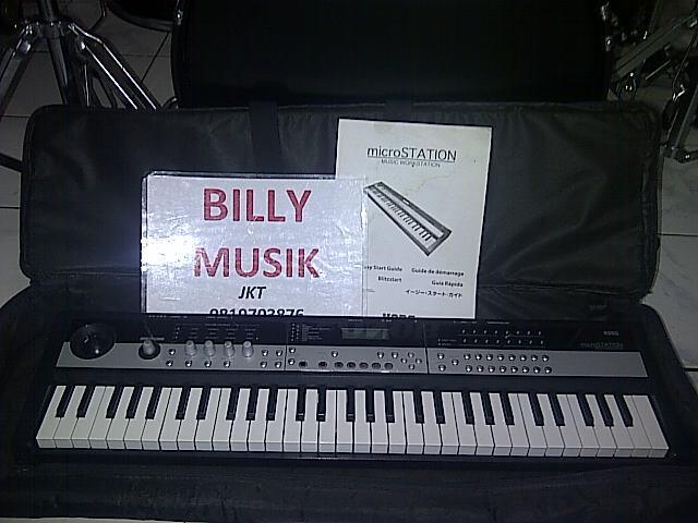 >>> WTS <<< Synthesizer KORG MicroSTATION Mini-Keys !!!