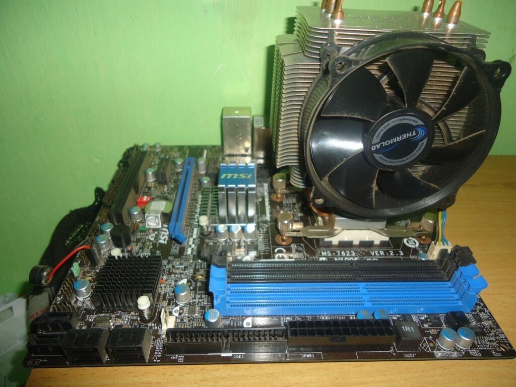 AMD PHENOM II X4 955BE+ MOBO MSI 880GM E41