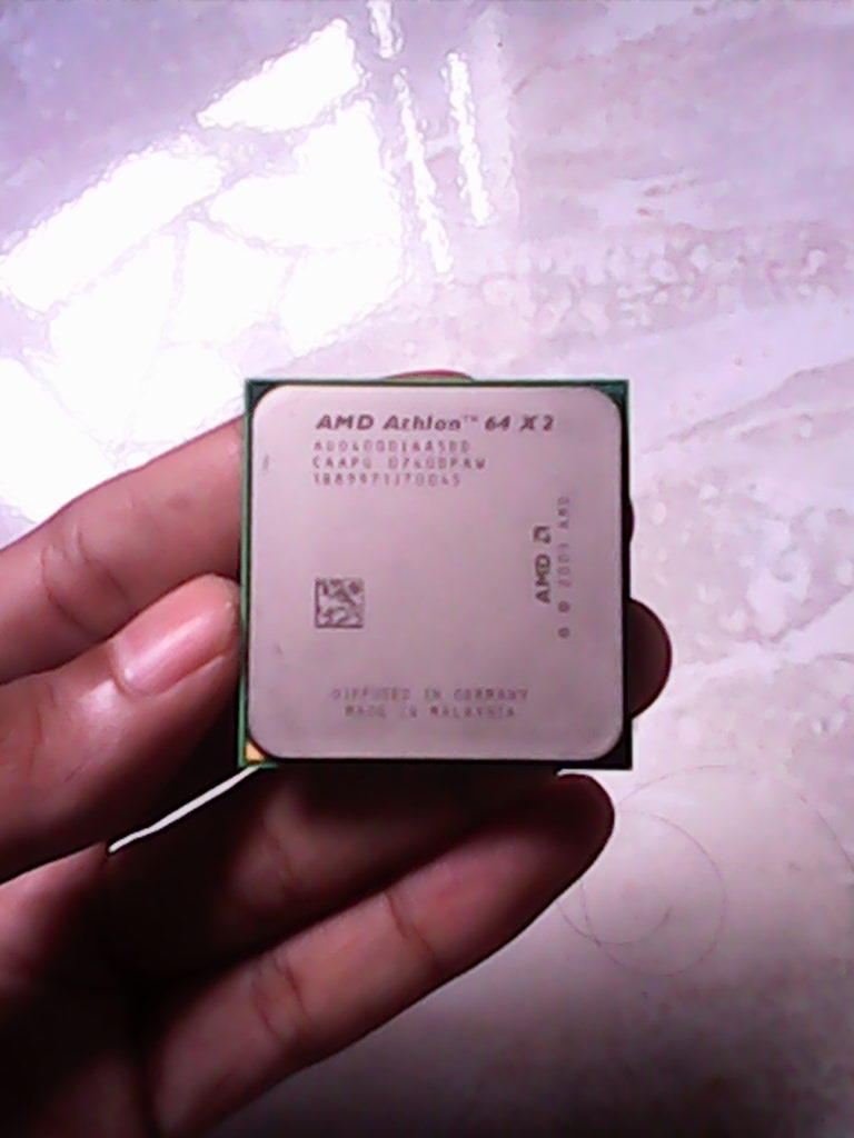 processor Amd Athlon X2 4000 dual core 2,1ghz + Ram 512mb ddr2