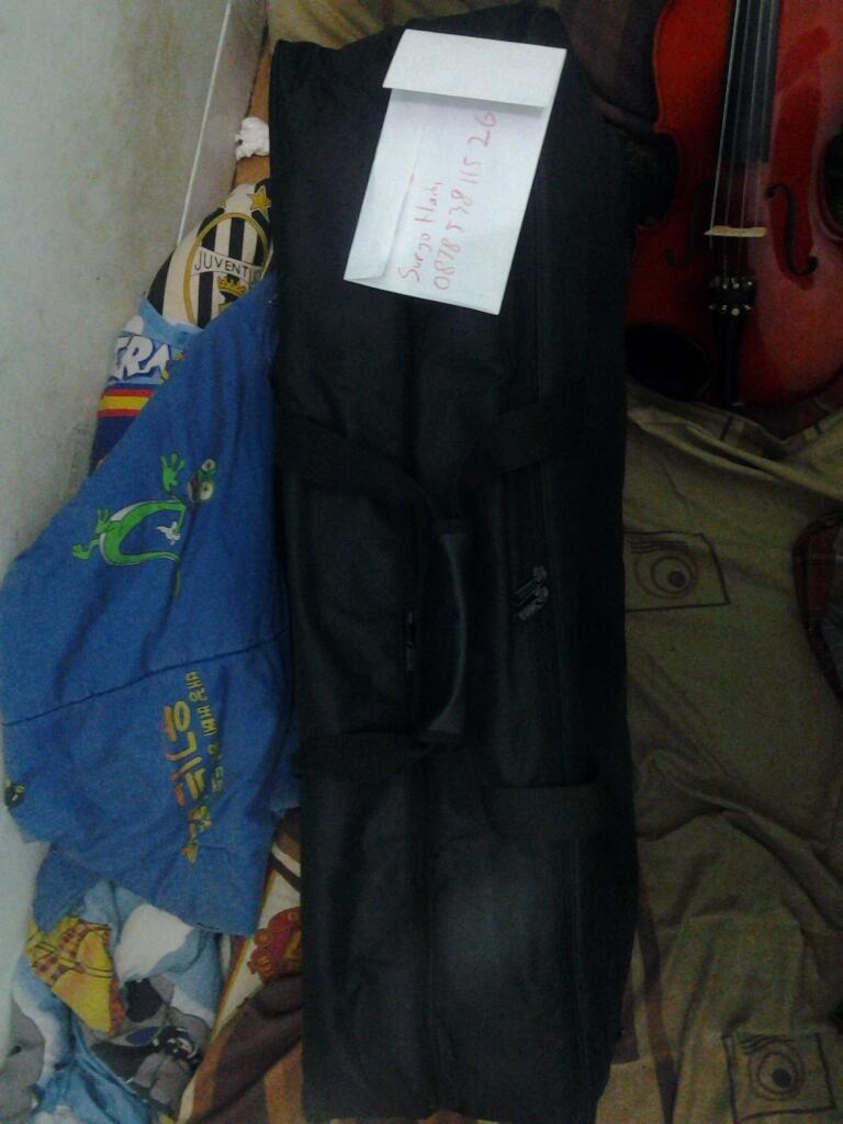 Dijual Case 2 Biola / Double Violin + 1 Slot cukup buat MultiEffect MURAH & NEGO!!