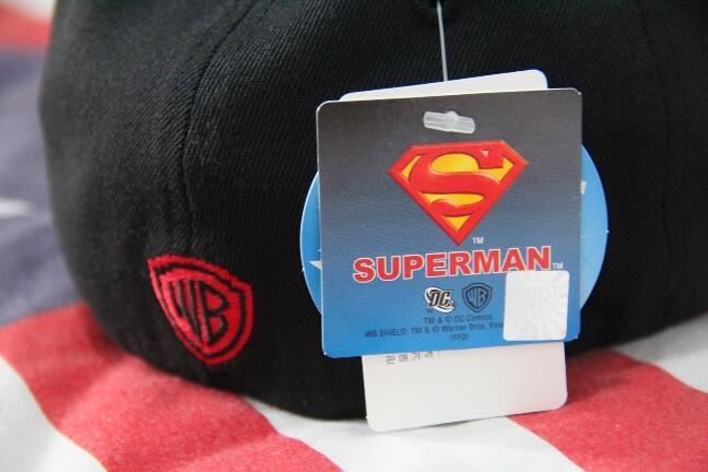 Terjual Topi SUPERMAN ORI 100% Warner Bros  2c0b8596ed