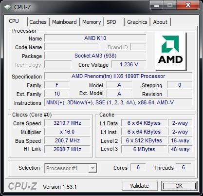 Procie AMD PHENOM II