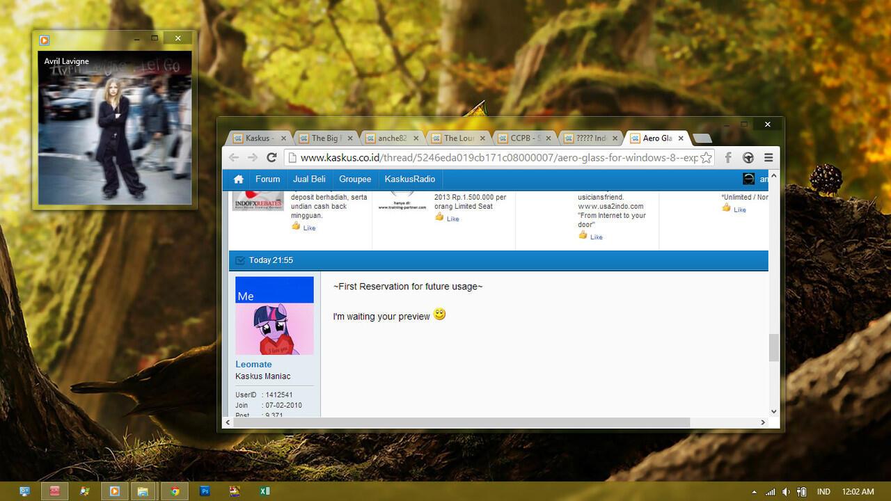 Aero Glass for Windows 8 ~ Experience Aero Glass on Win8