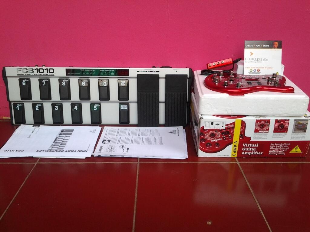 WTS Behringer V amp 3 + FCB 1010