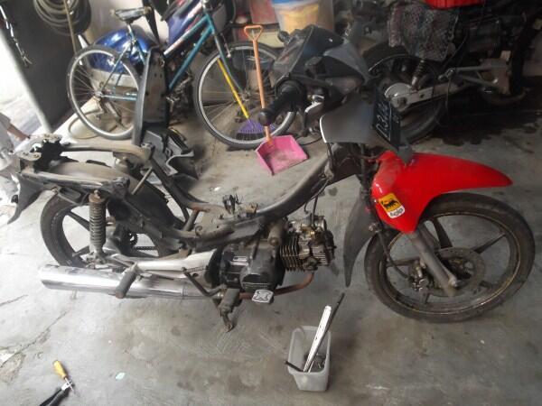 Terjual Pretel Honda Supra Fit X 2008 Surat Mesin Kaki Body Buat Odif C70 Mantap