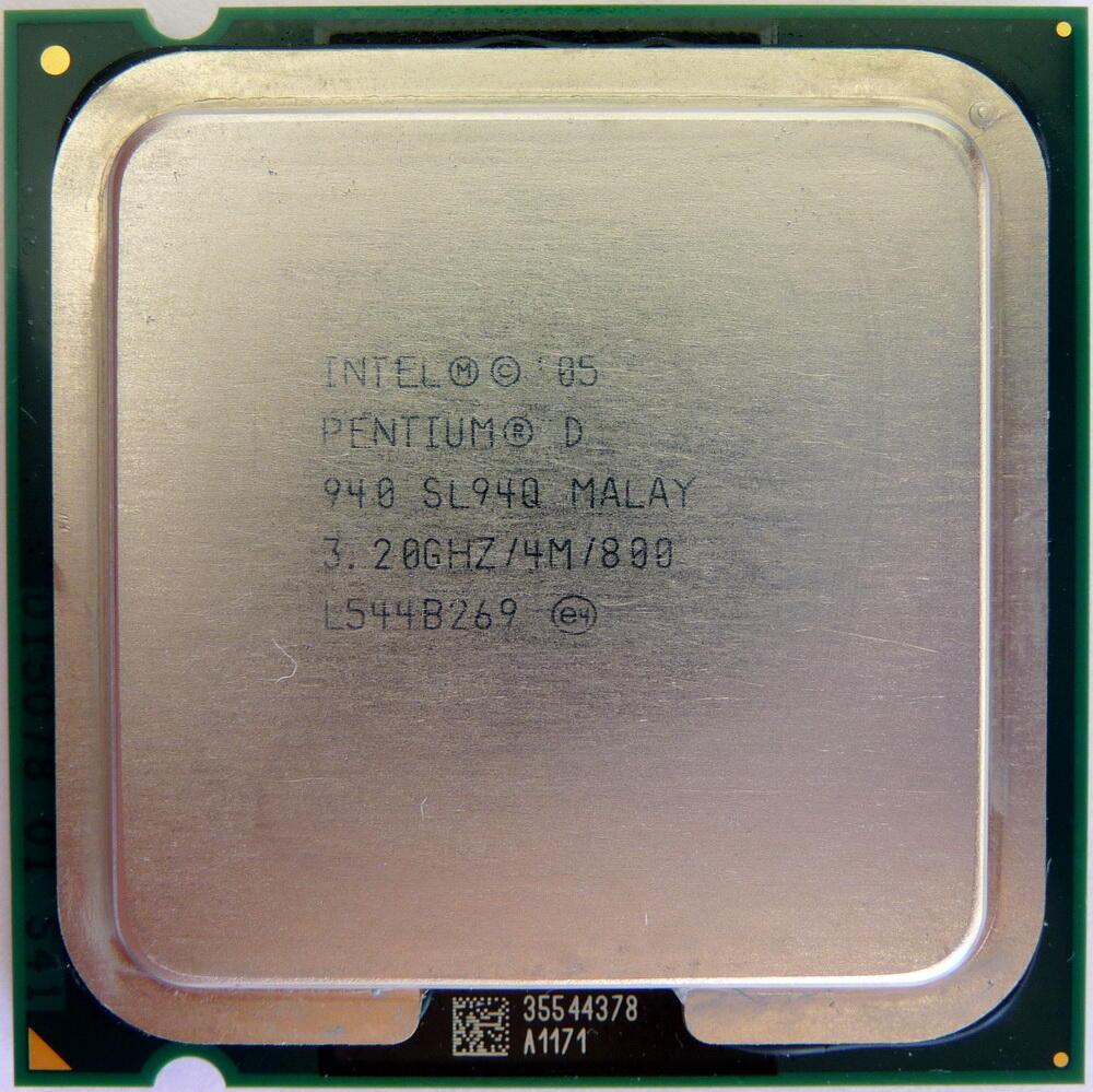 Pentium D 940 3,2Ghz 2Cores/4MB/800 Langka. Spek Mahal dijual murah