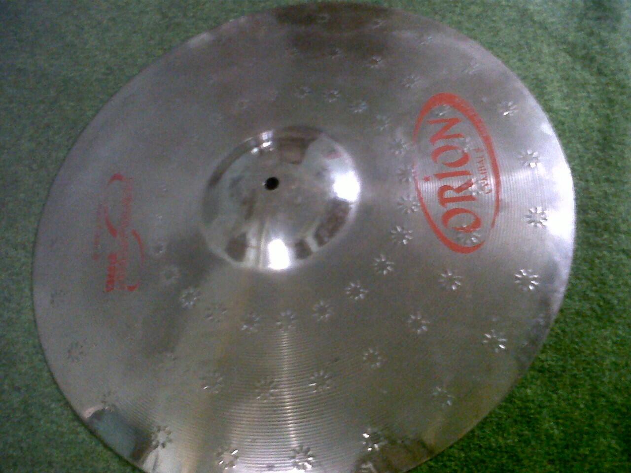 """cymbal crash orion 19"""""""