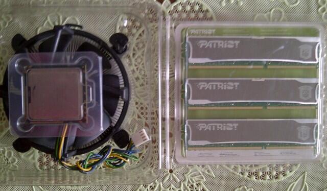 i7 920 + Patriot Signature Line 6 gb Kit 9 ( DEPOK )