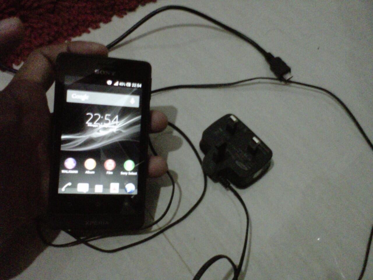 Jual Xperia Go Batangan Android Outdoor Murah