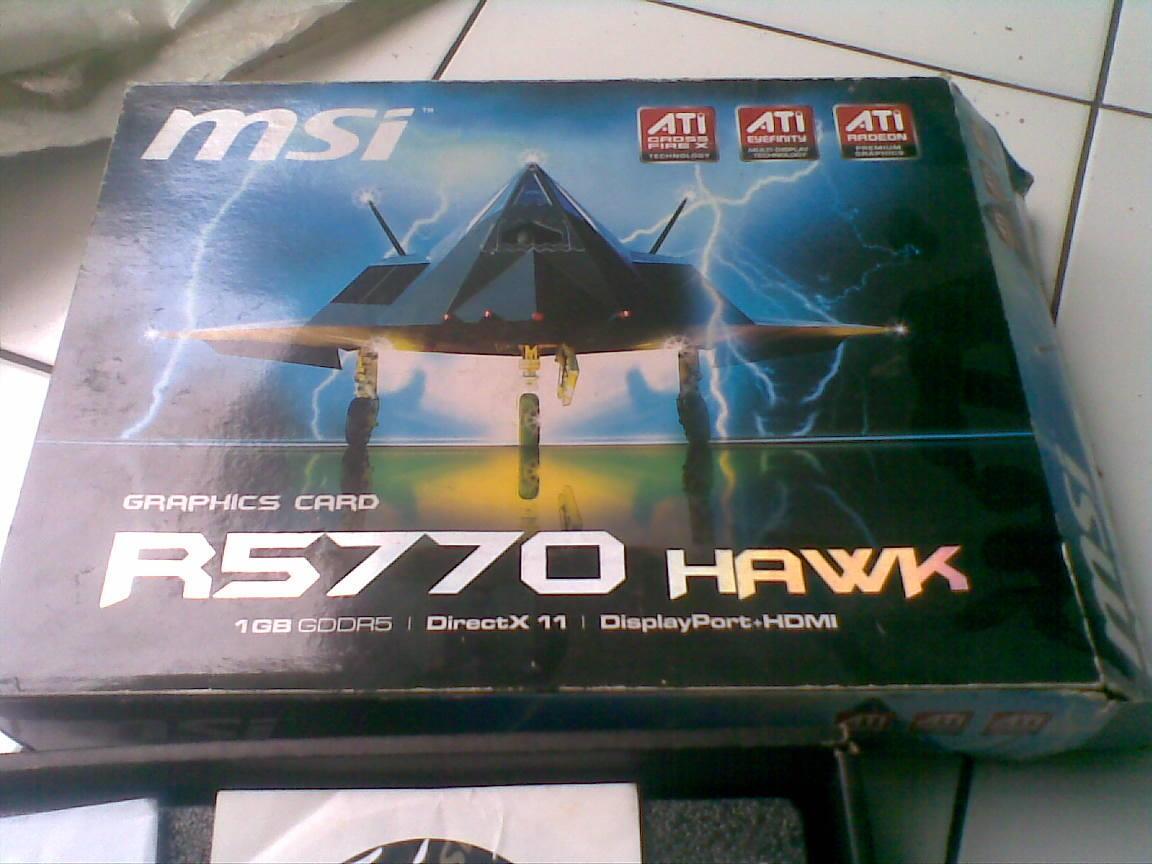 (COD Only Bandung) MSI 5770 Twin FrozrII