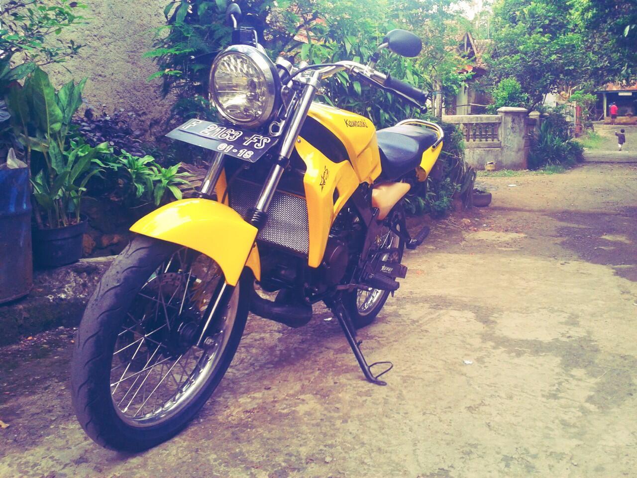 JUAL Kawasaki ninja R (Sukabumi)