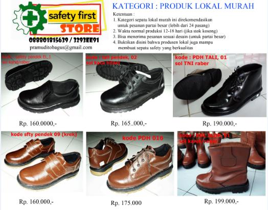 Salam Safety emoticon-Smilie Safety Shoes (Sepatu Safety) Keren & Murah ...
