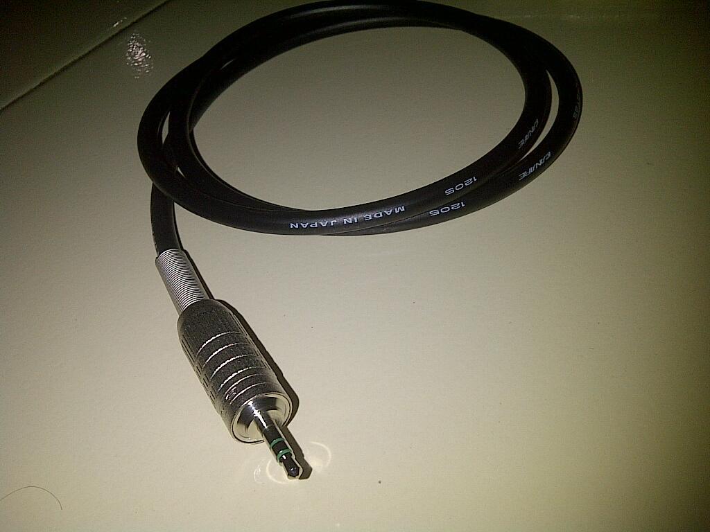 kabel speaker + interconnect mini (3,5mm), Canare u/ upgrade multimedia speaker 2.1