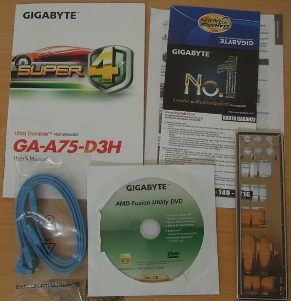 Mobo GA A75-D3H