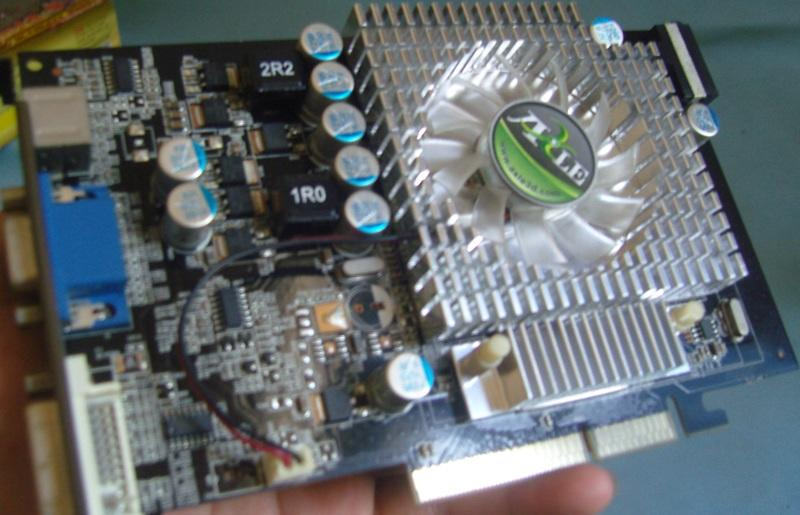 VGA AXLE GF 7600GS 512mb/128bit/DDR2/AGP