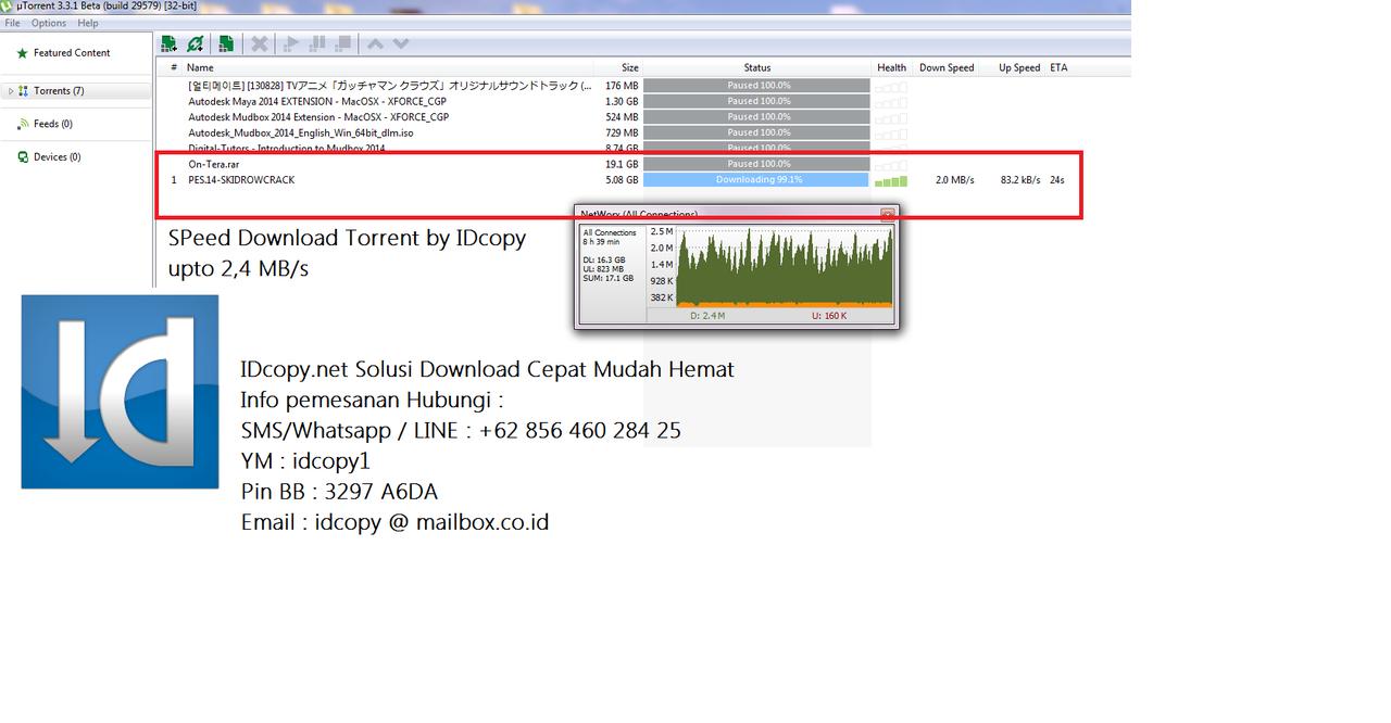Jual Jasa Download Segala File dari Situs Luar Negeri+Lokal Cepat Mudah Hemat IDcopy