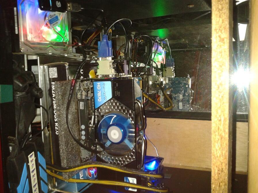 JUAL VGA HIS HD 7870 Black ICE Q 2GB gDDR5