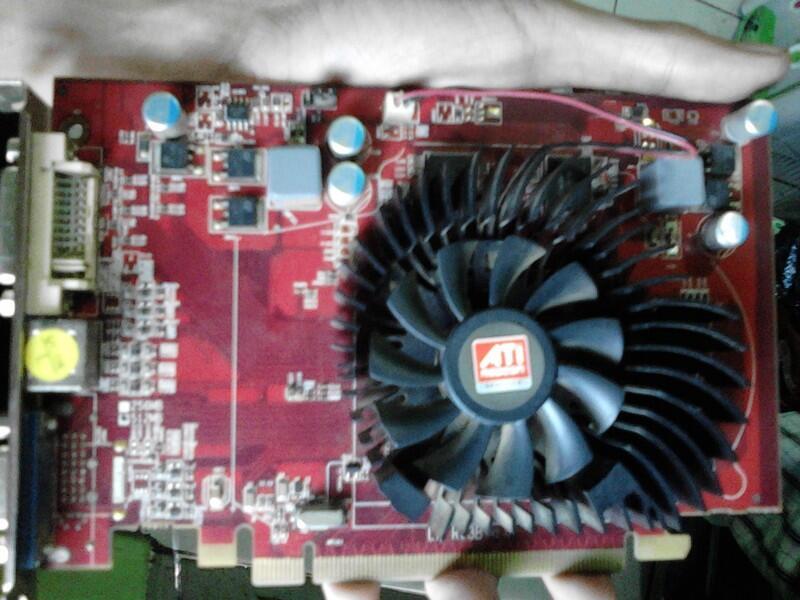 VGA Ati Radeon Power Color 3650 512MB 128bit